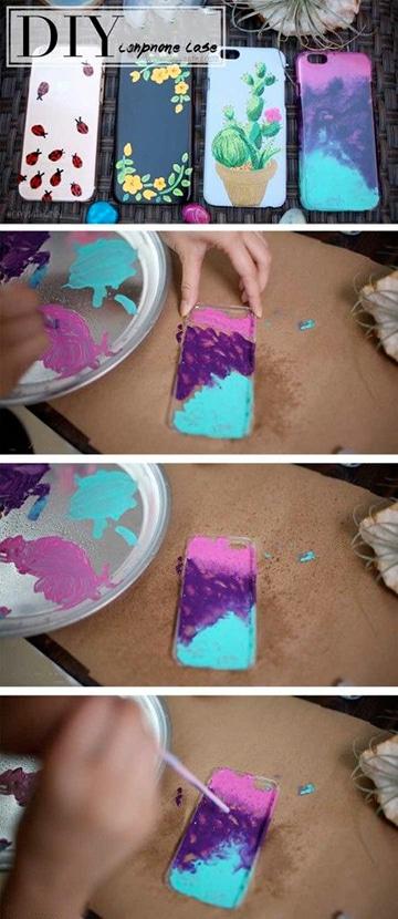 como hacer carcasas para celular con silicona