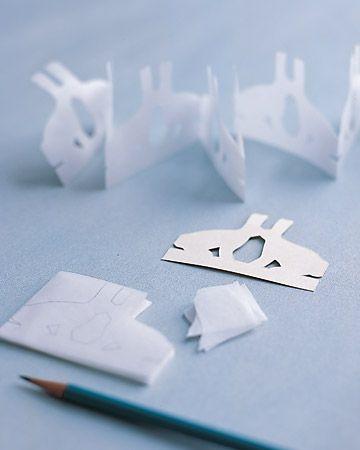 como hacer conejos de papel en pareja