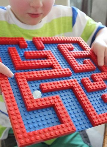 como hacer juegos didacticos para niños lego