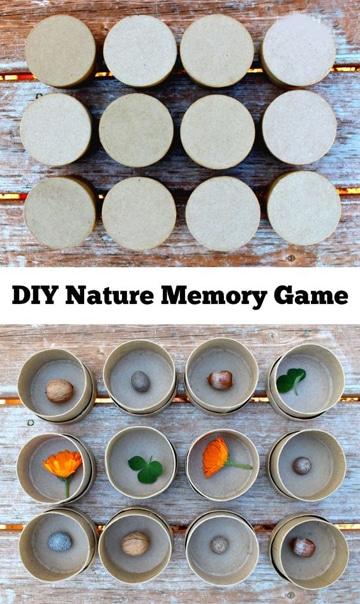 como hacer juegos didacticos para niños memoria