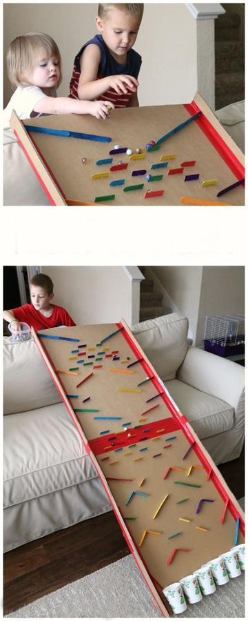 como hacer juegos didacticos para niños obstaculos