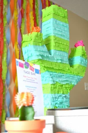 como hacer piñatas mexicanas cactus