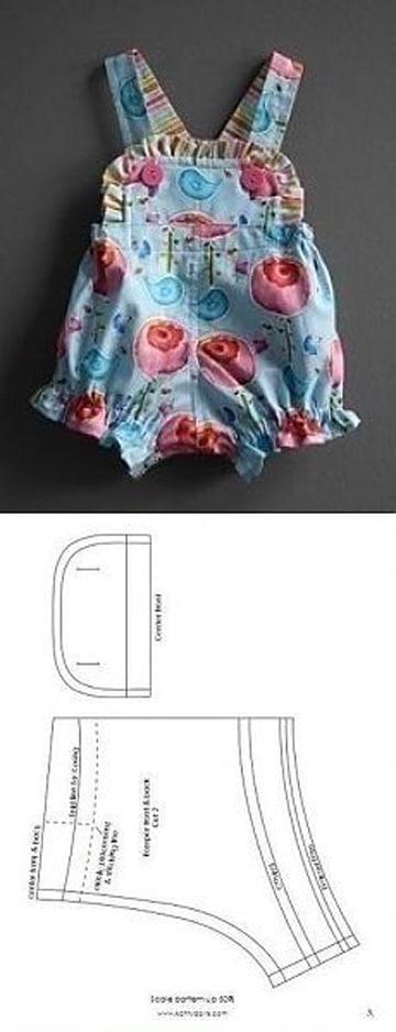 como hacer ropa de bebe recien nacido braga