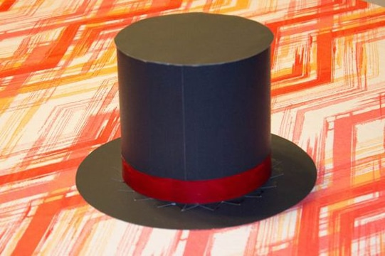 como hacer un sombrero de mago copa