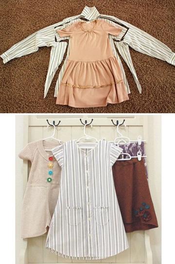 como hacer vestidos para bebes 1 año