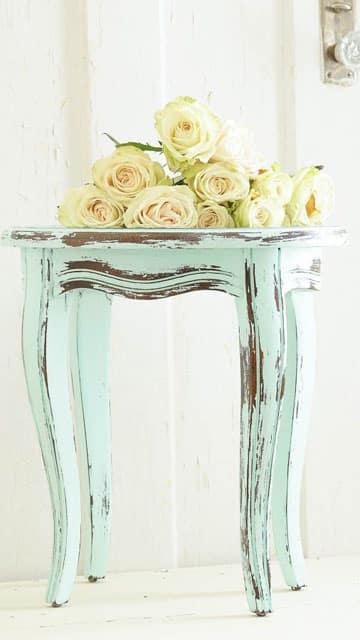 como pintar muebles vintage estilo