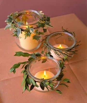 frascos de gerber decorados boda