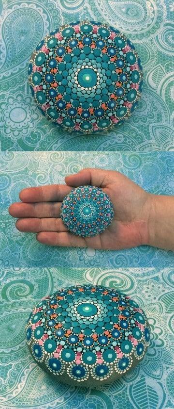imagenes de piedras pintadas decorativas