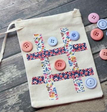 juegos de mesa con material reciclado botones