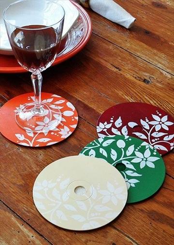 manualidades con cd viejos como hacer