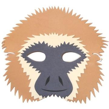 mascaras de animales en foam faciles