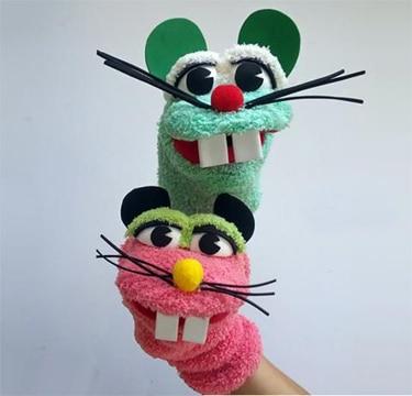 muñecos reciclables faciles de hacer titere