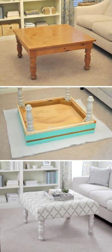 muebles restaurados en blanco modernos