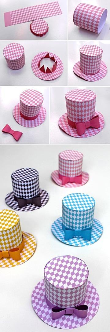 Faciles y originales sombreros divertidos para ni os for Fotos originales de bebes para hacer en casa