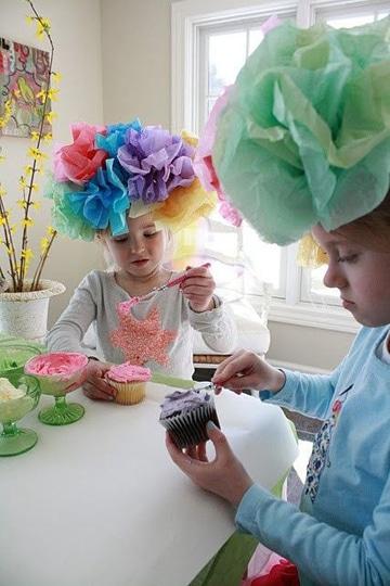 Faciles y originales sombreros divertidos para ni os for How to decorate a hat for a tea party