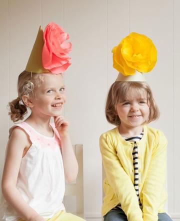 sombreros divertidos para niños sencillos