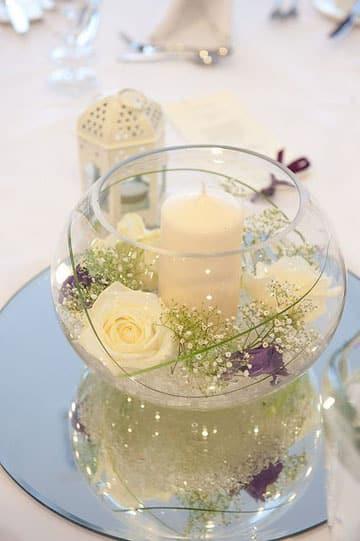 adornos para matrimonio civil sencillos