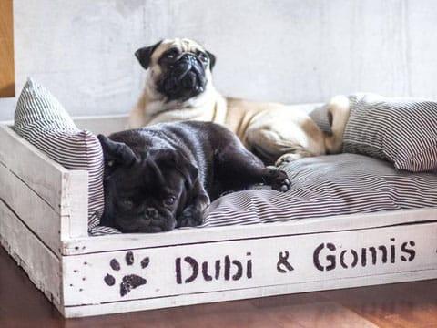 camas para perros con palets como hacer