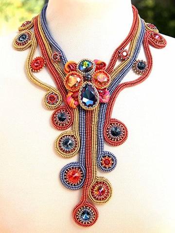 collares de mostacilla paso a paso con diseños