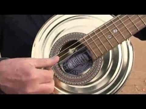 como elaborar un instrumento musical reciclado