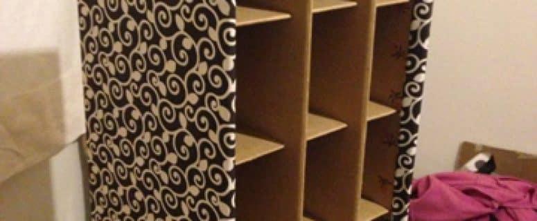 Como Hacer Un Armario De Carton Y Muebles De Reciclado