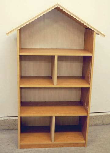 como hacer una casa de muñecas de madera grande