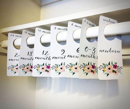 ideas para organizar el closet de bebe