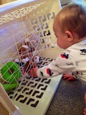 juguetes caseros para bebes de 9 meses