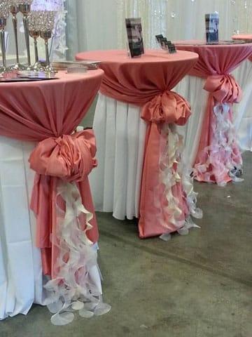 manteles de mesa para boda 2014