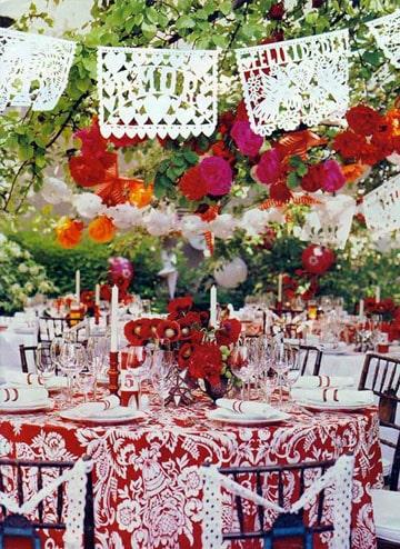 manteles de mesa para fiestas mesa redonda