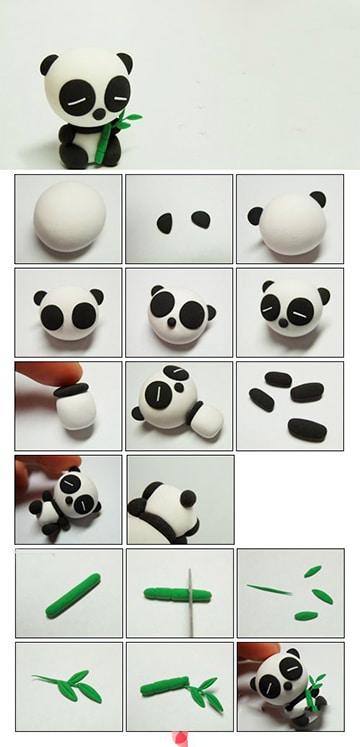 Figuras de manualidades en porcelana fria paso a paso Manualidades