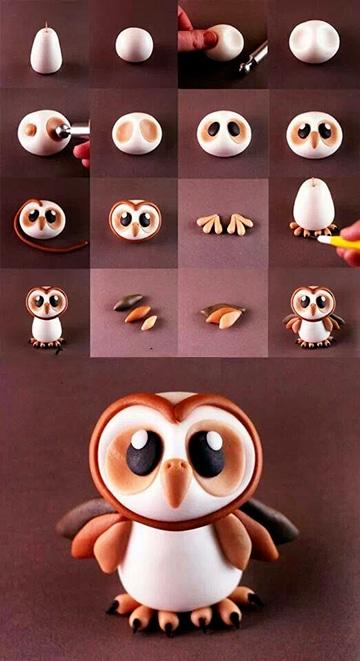 Figuras de manualidades en porcelana fria paso a paso - Manualidades para adultos paso a paso ...