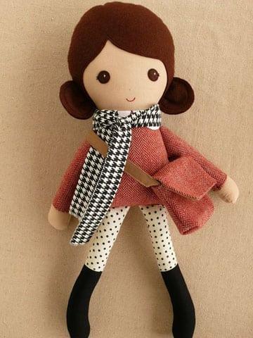 muñecas rusas de trapo a la moda