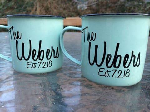 tazas personalizadas para bodas Mr y Mrs