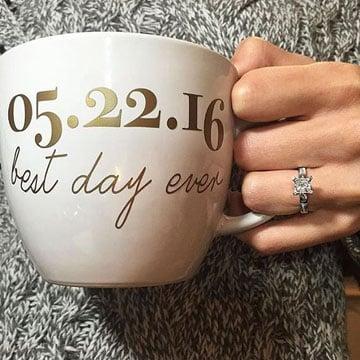 tazas personalizadas para bodas mejor dia