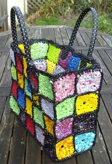 bolsas artesanales de plastico para mercado