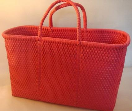 bolsas artesanales de plastico unicolor