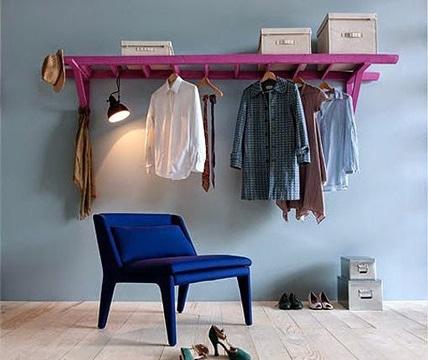como hacer un colgador de ropa casero
