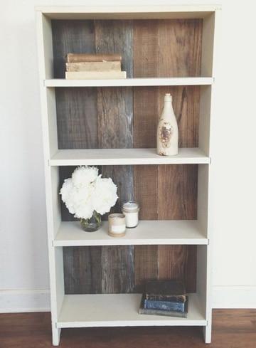 4 formas de como hacer una estanteria de madera nica - Como hacer estanterias de madera ...