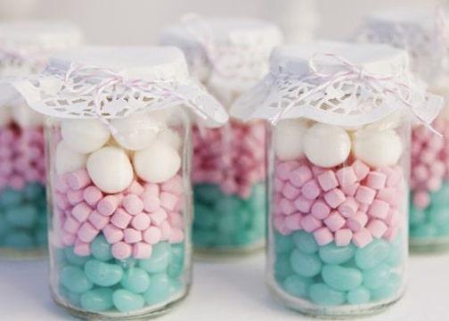 frascos de compotas decorados para dulces