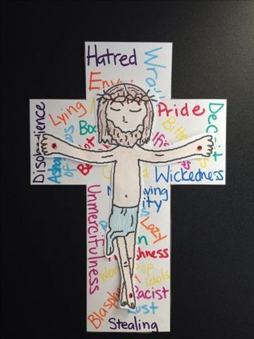 imagenes de semana santa para niños dibujo