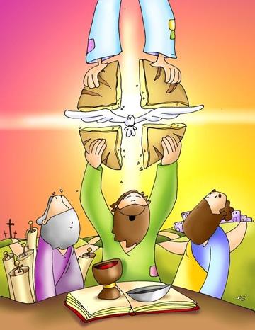 imagenes de semana santa para niños en caricatura