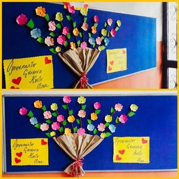 murales para el dia de la madre con flores