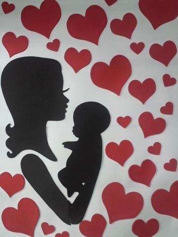 murales para el dia de la madre ideas