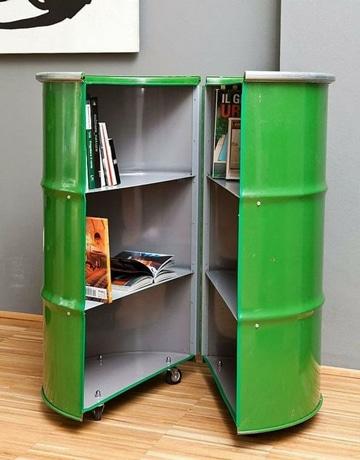 objetos reciclados para el hogar revistero