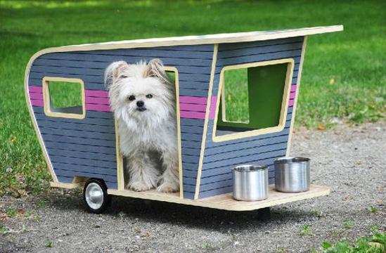casitas para perros pequeños moderna