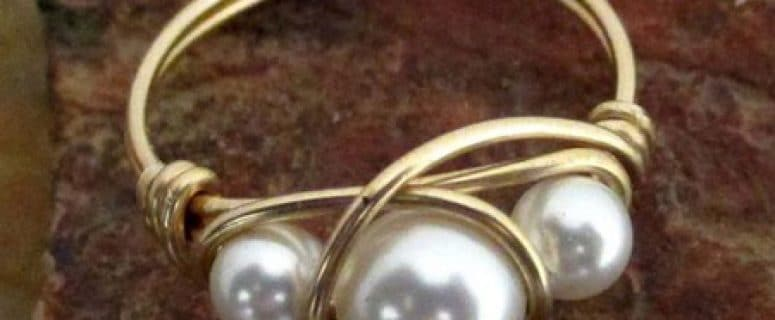 2d32a5b5c791 Aprende como hacer anillos de bisuteria bonitos y sencillos