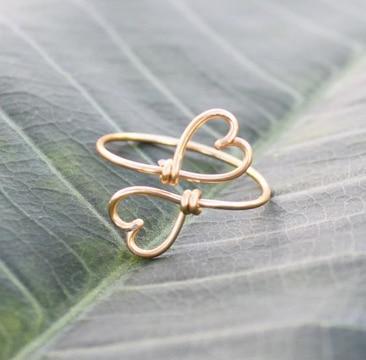 como hacer anillos de bisuteria faciles