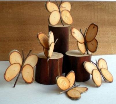 como hacer artesanias en madera faciles