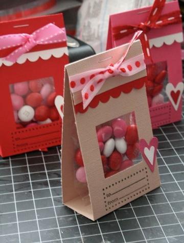 como hacer sobres de cartulina para dulces